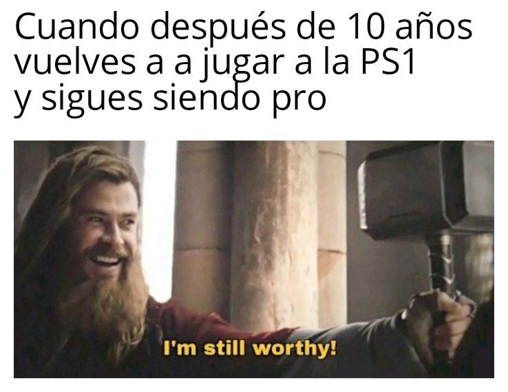 Thor gamer - meme