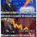 Sto... Not stonks