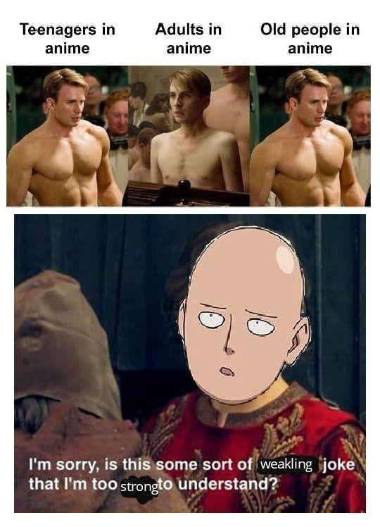 One Punch.... Man... - meme