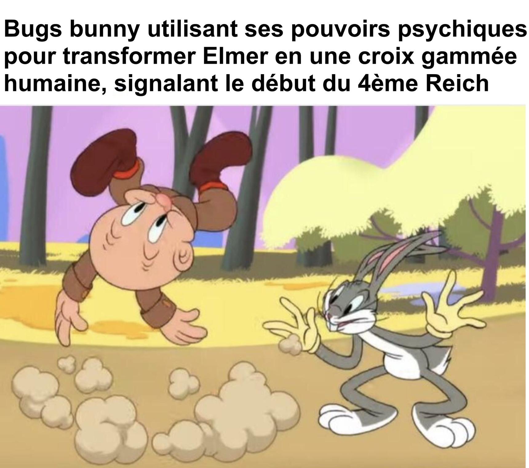 Bugs Bunny est un nazi - meme