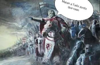 Cruzada contra los Zurdos - meme