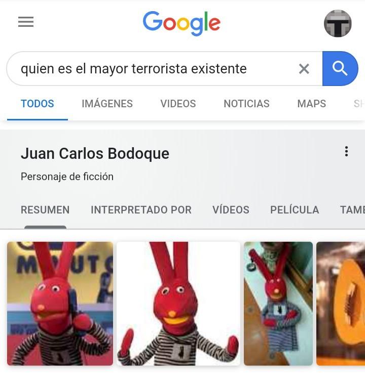 Bodoque es terrorista omg - meme