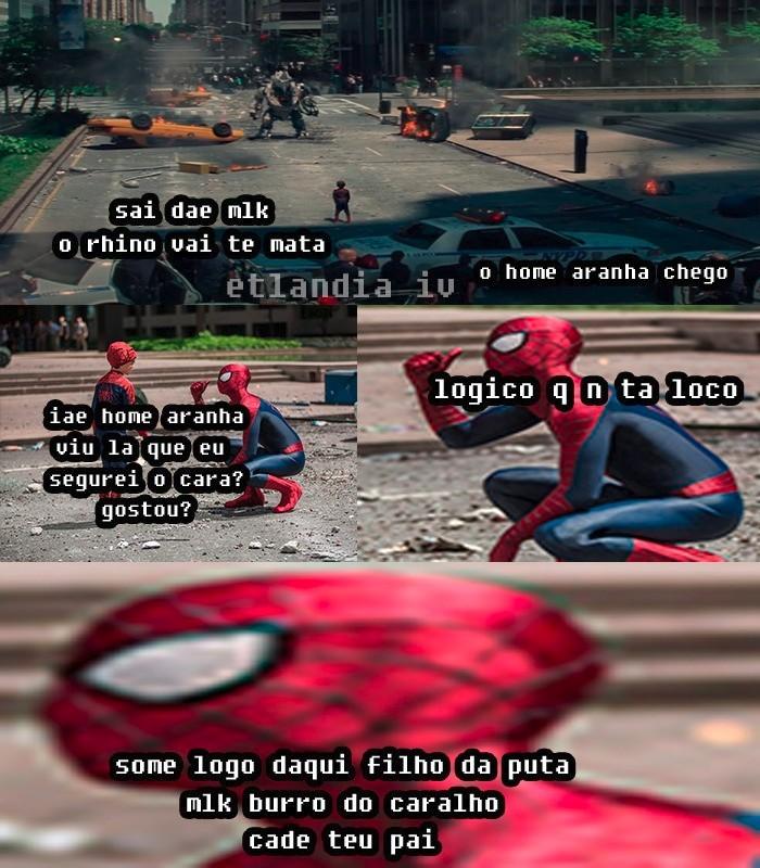 Homi aranha - meme