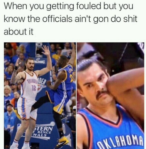 Thunder should've won...disappointed. bye kd and Russ - meme