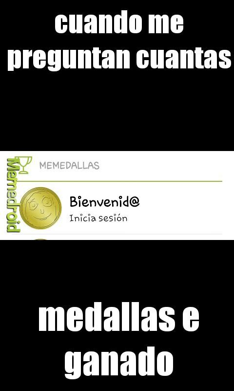 mis medallas - meme