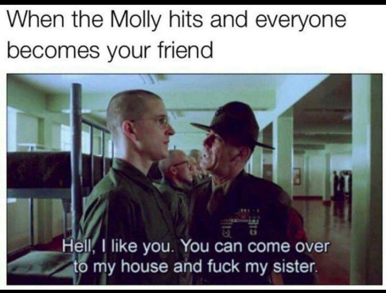 come thru - meme
