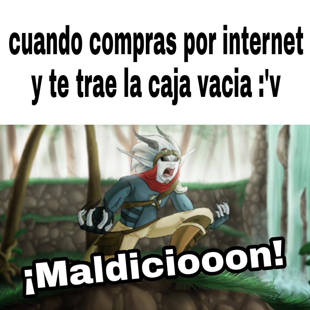 Maldicion - meme