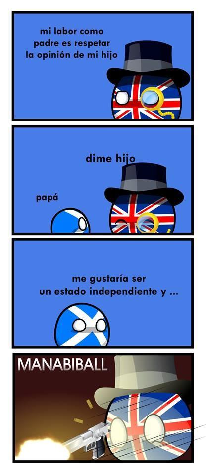 Igual con España y Cataluña - meme