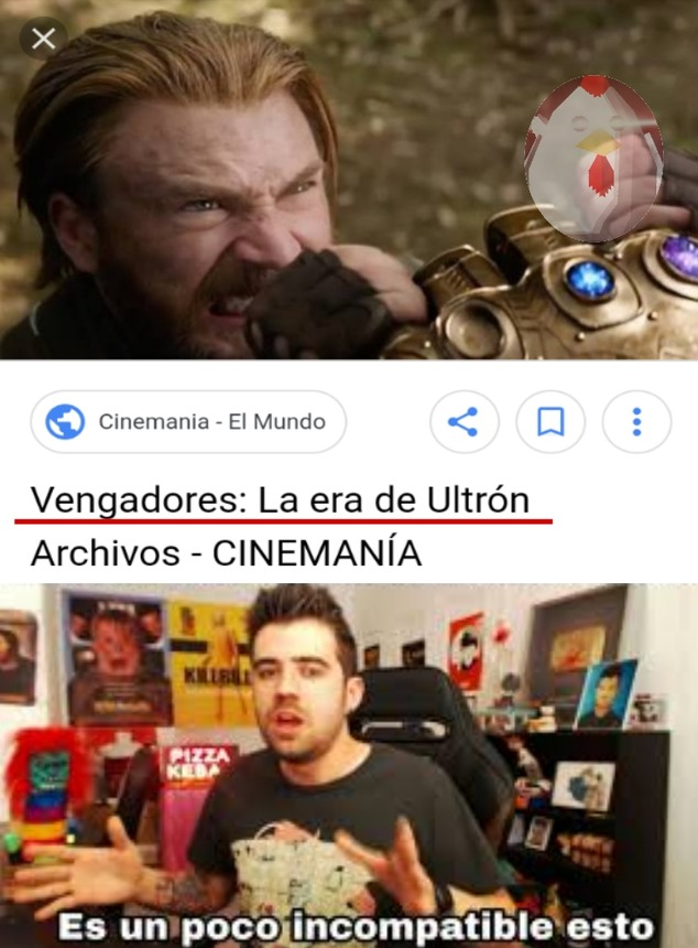 La era de Thanos - meme