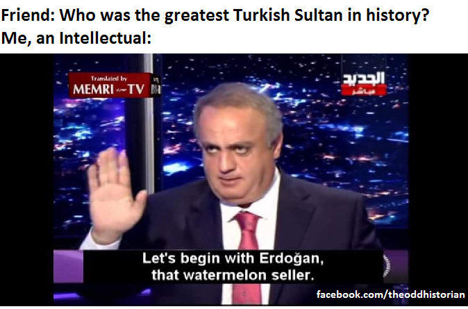 The greatest sultan ever? - meme