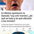 "el meme esta abajo ""Ley anti-memes""  :("
