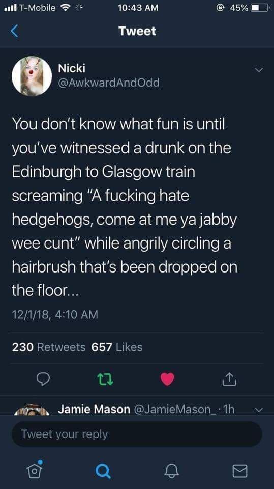 Oh Glasgow - meme