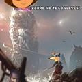 Dora es mas fuerte que el zorro :0