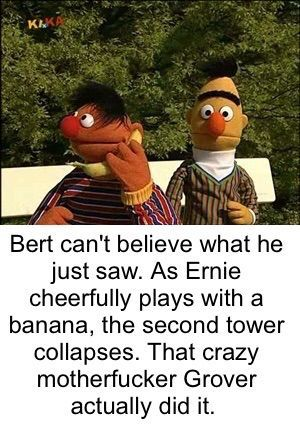 bert cant believe it - meme