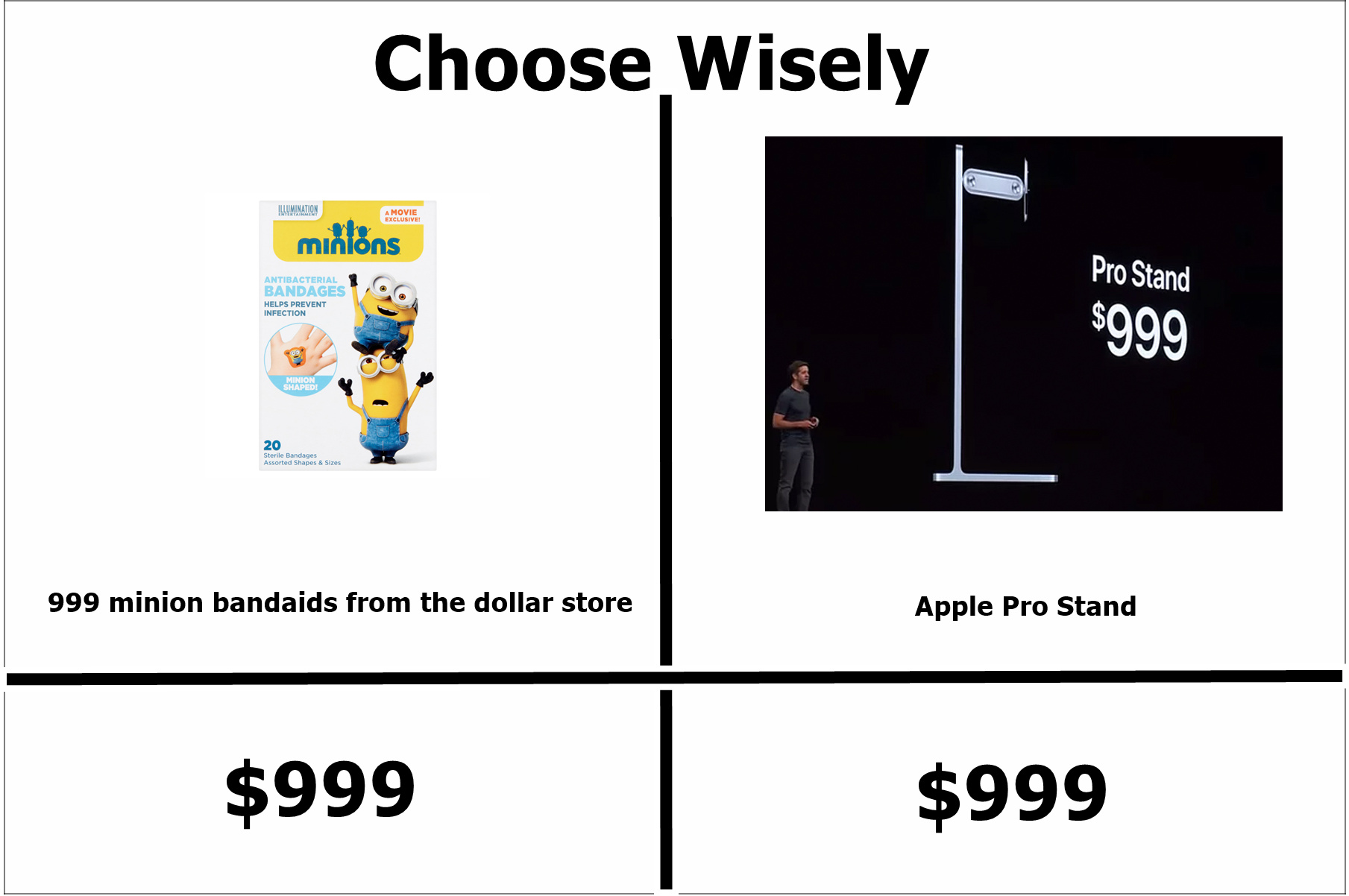 The best choose wisely memes  Memedroid