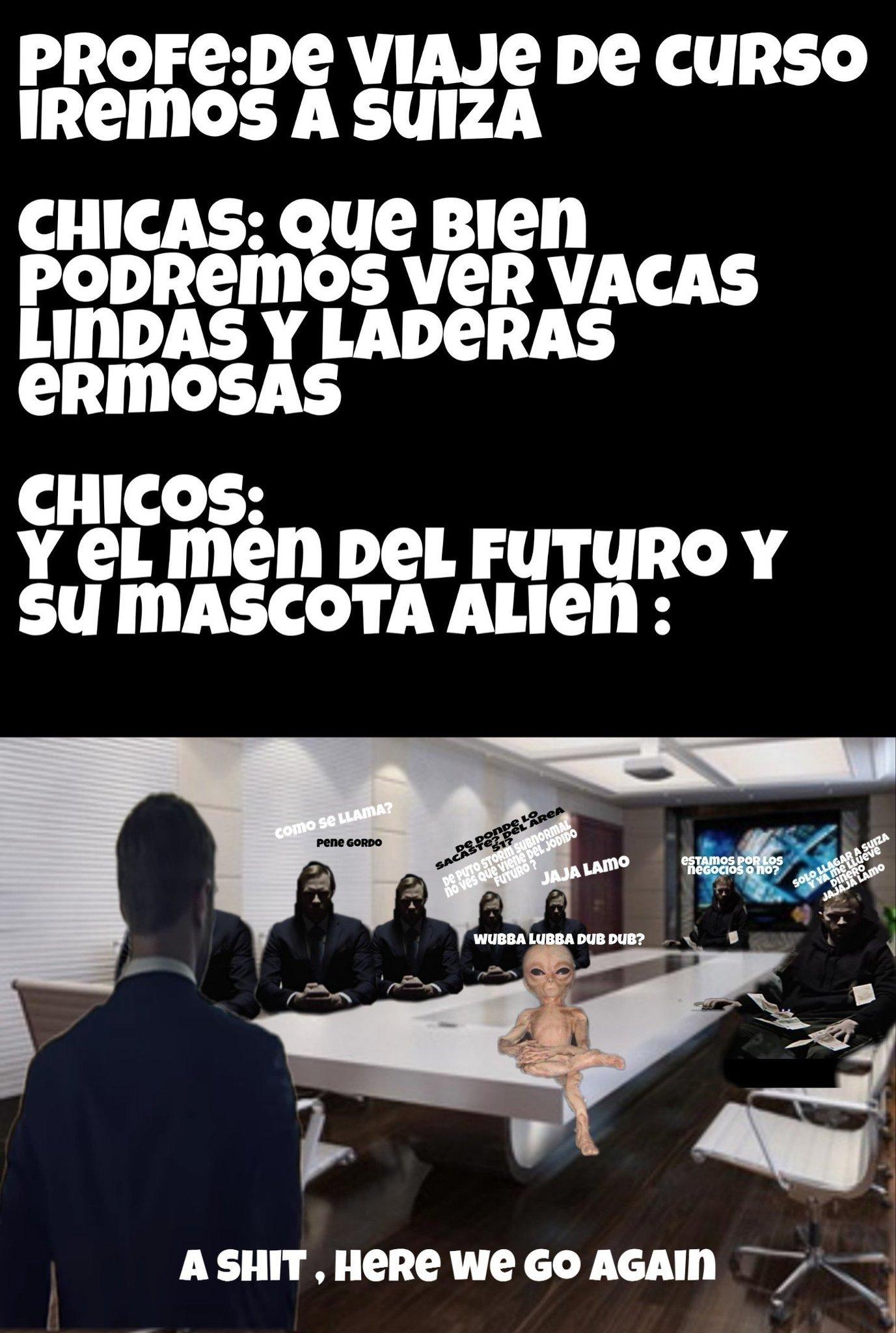 El men de futuro es uno de ellos - meme