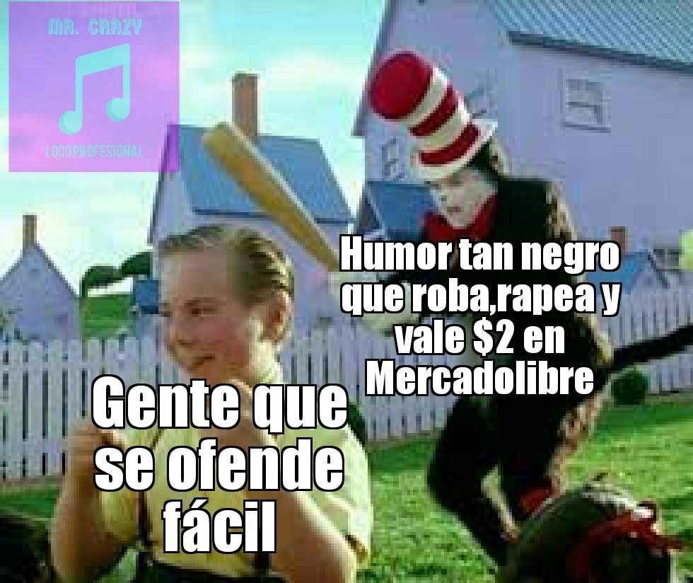 Humor negro - meme
