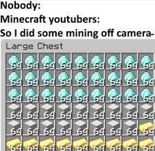 mine DIAAAAMMMONNNDNDNSNSS - meme