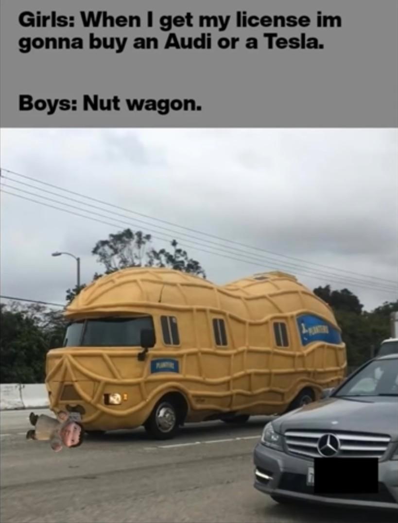 Nut wagon - meme