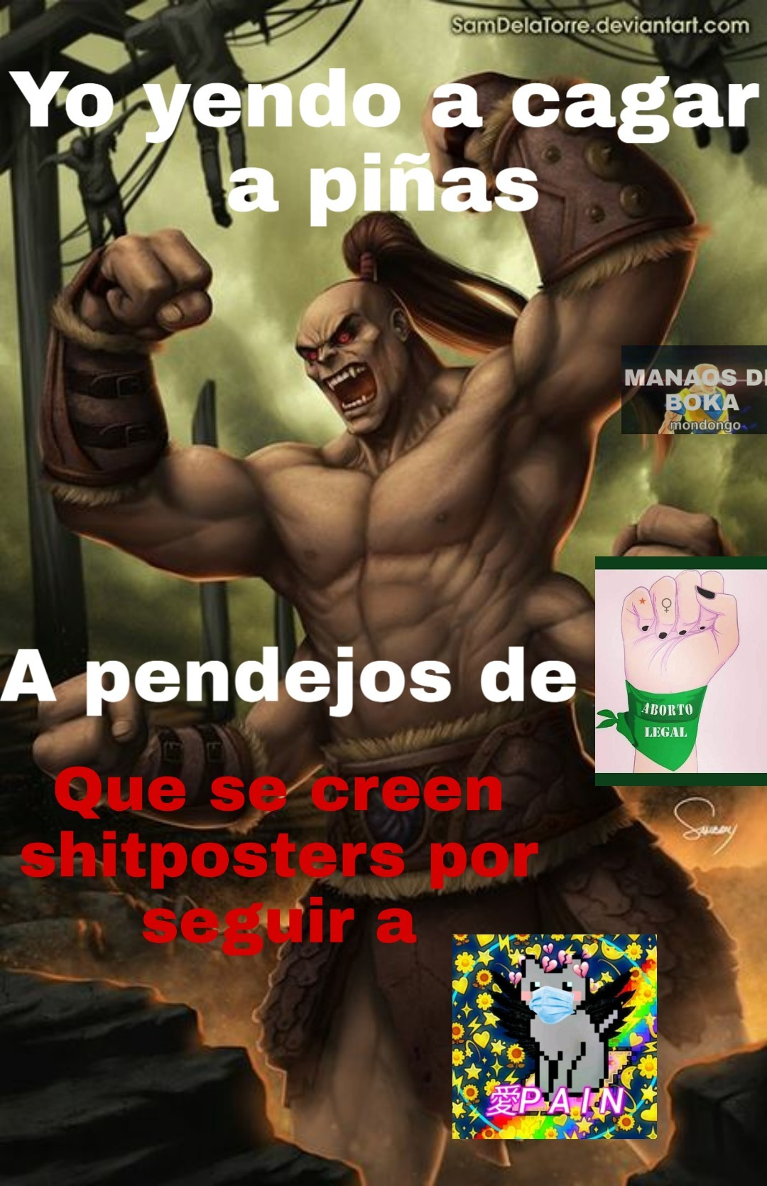 1 guy 1 gaRchatuber - meme