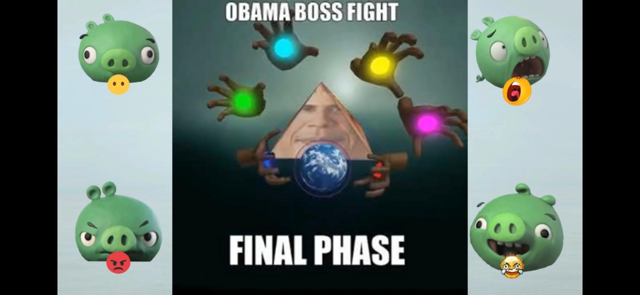 Obama boss final phase - meme