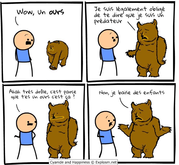petit ours brun - meme