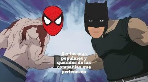 Mis 2 superheroes favoritos - meme