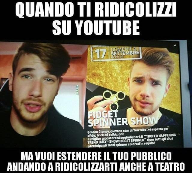 Fidget Spinner show merdoso - meme