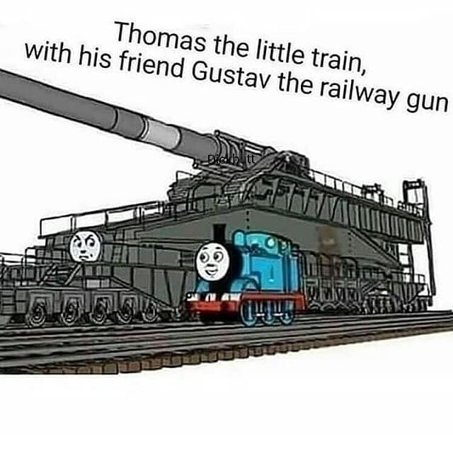 Thomas the dank engine - meme