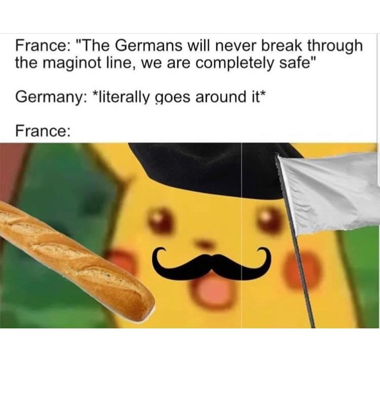 napoleon failed us - meme