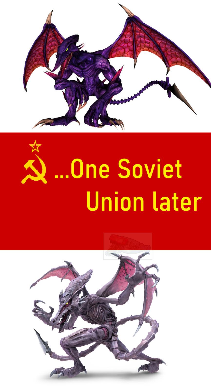 soviet Ridley for the motherland - meme