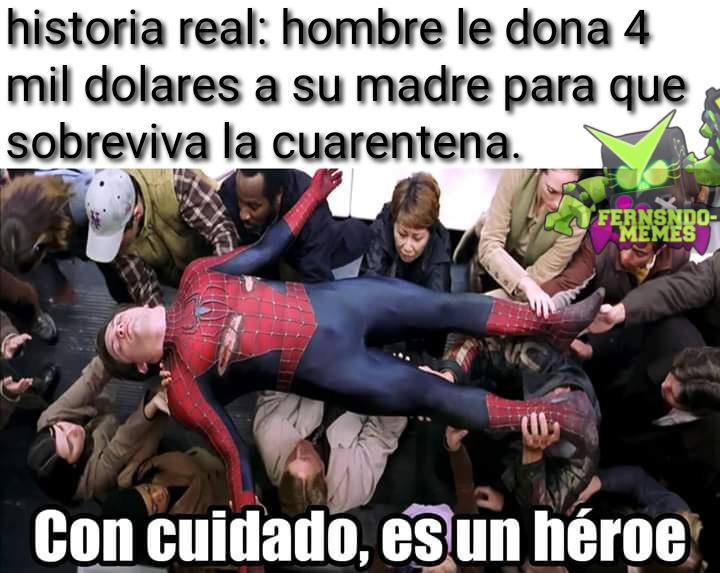 Soy un heroe - meme