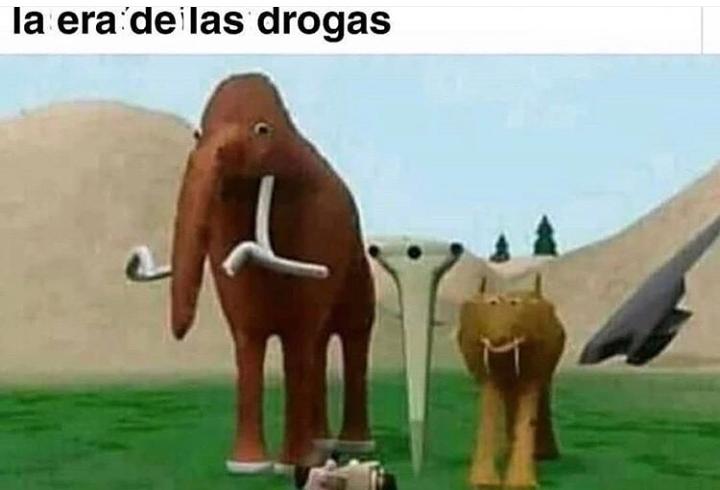 Drug age - meme