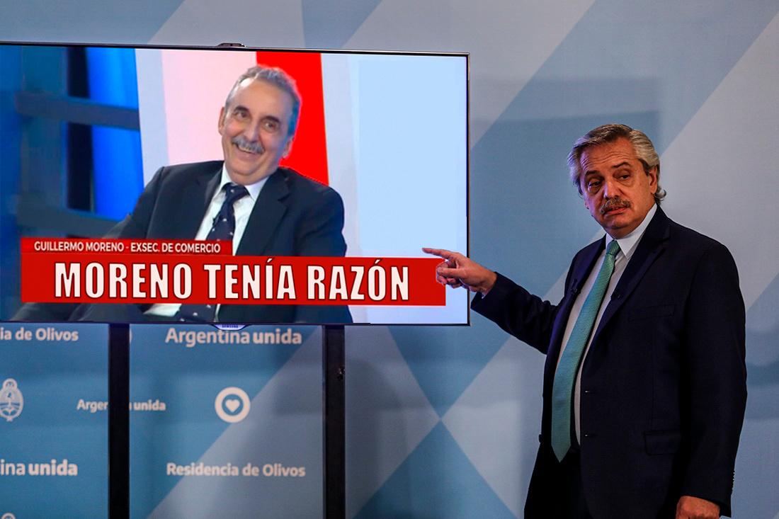 MORENO TENIA RAZON - meme