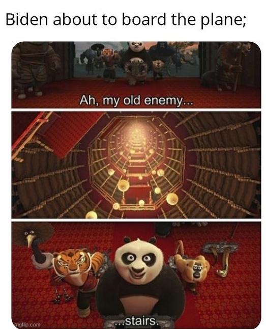 stairs - meme