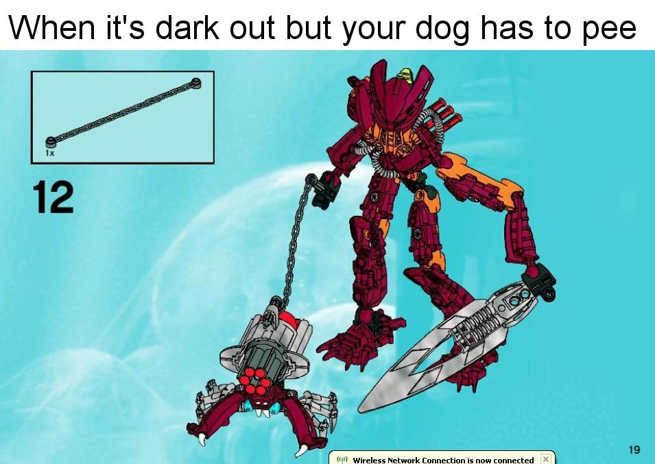 when it is dark out - meme