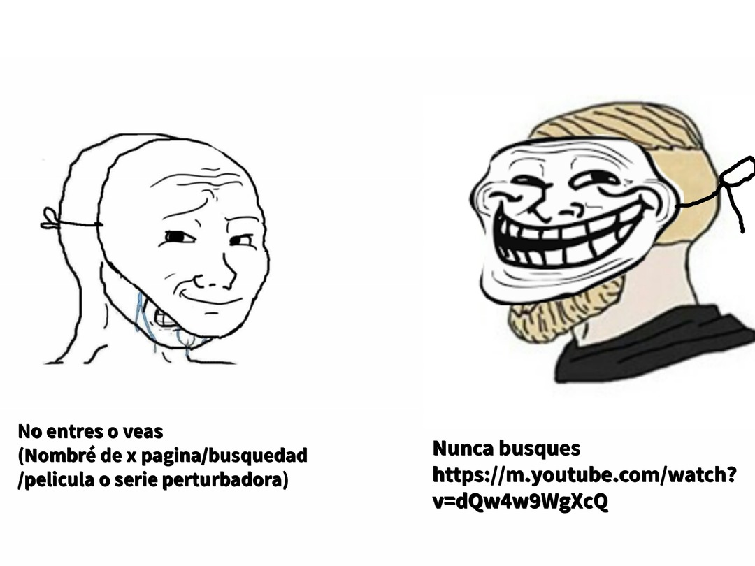 Chad troll - meme