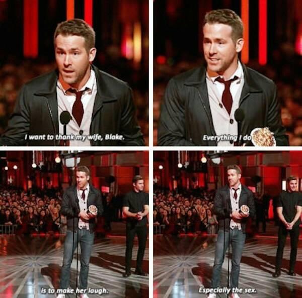 I'd go gay for Ryan Reynolds - meme