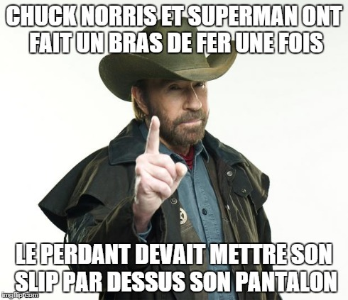 Je comprends enfin son délire à superman - meme