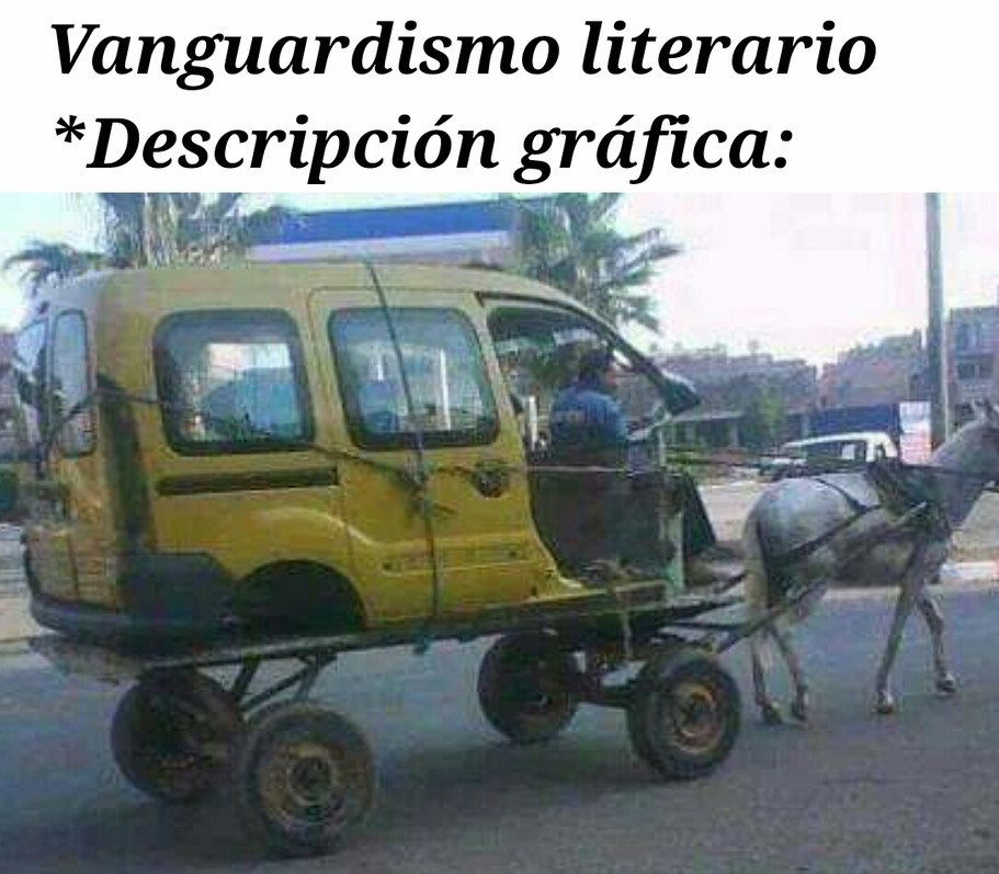 Vanguardismo - meme