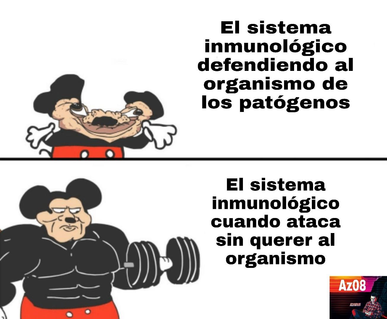 Un auténtico capo el sistema inmunológico - meme