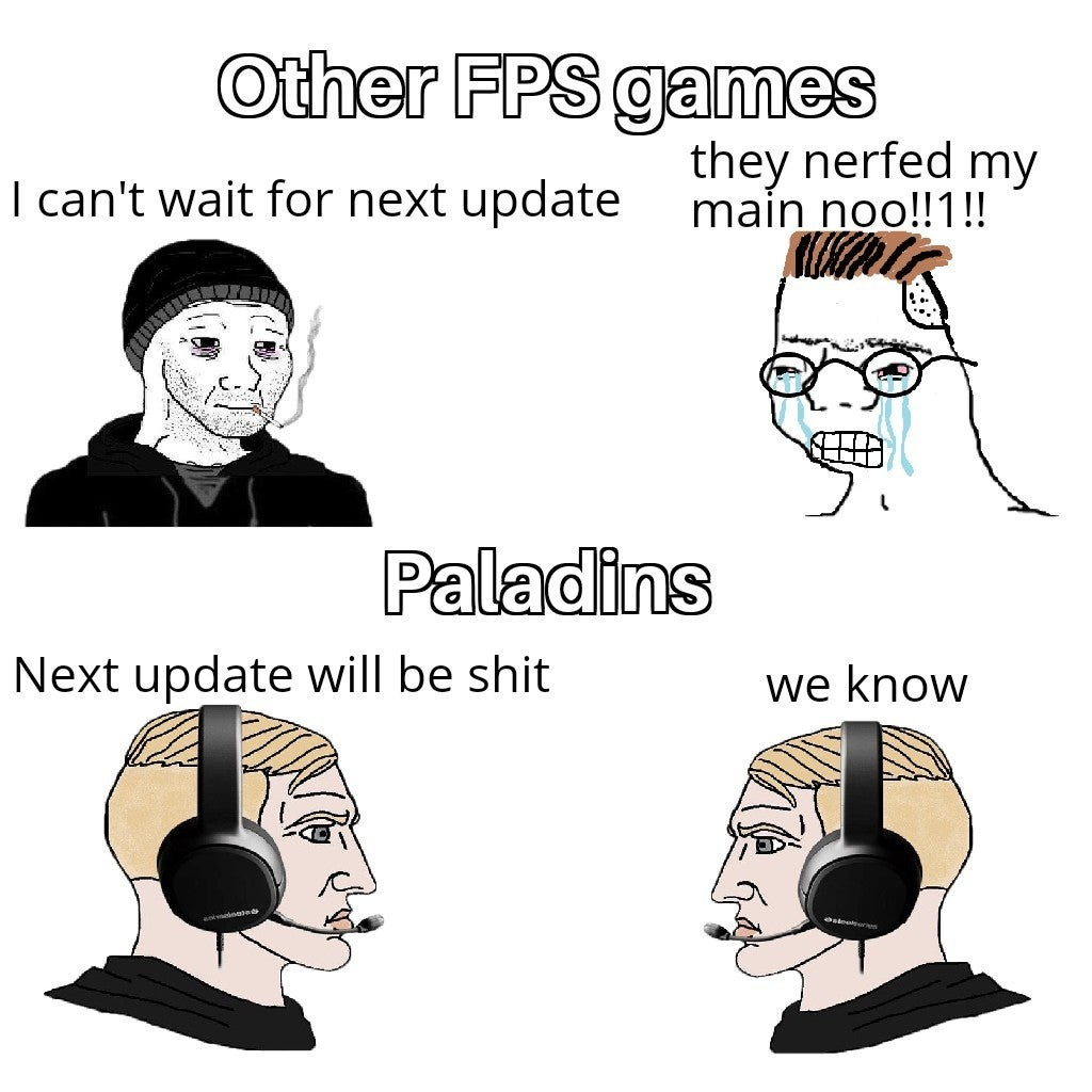 Any Paladins players? - meme