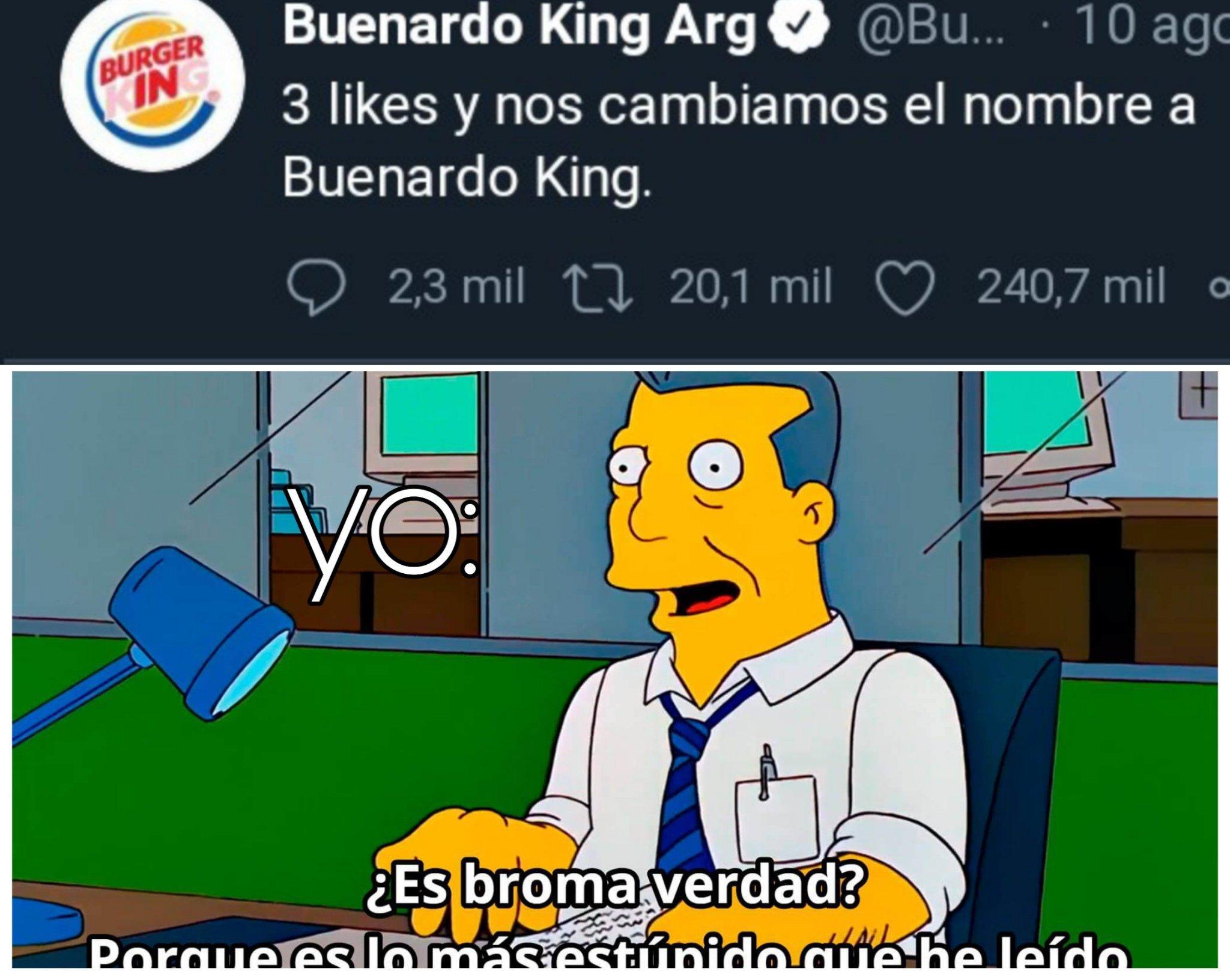 Buenardo king ekisde - meme