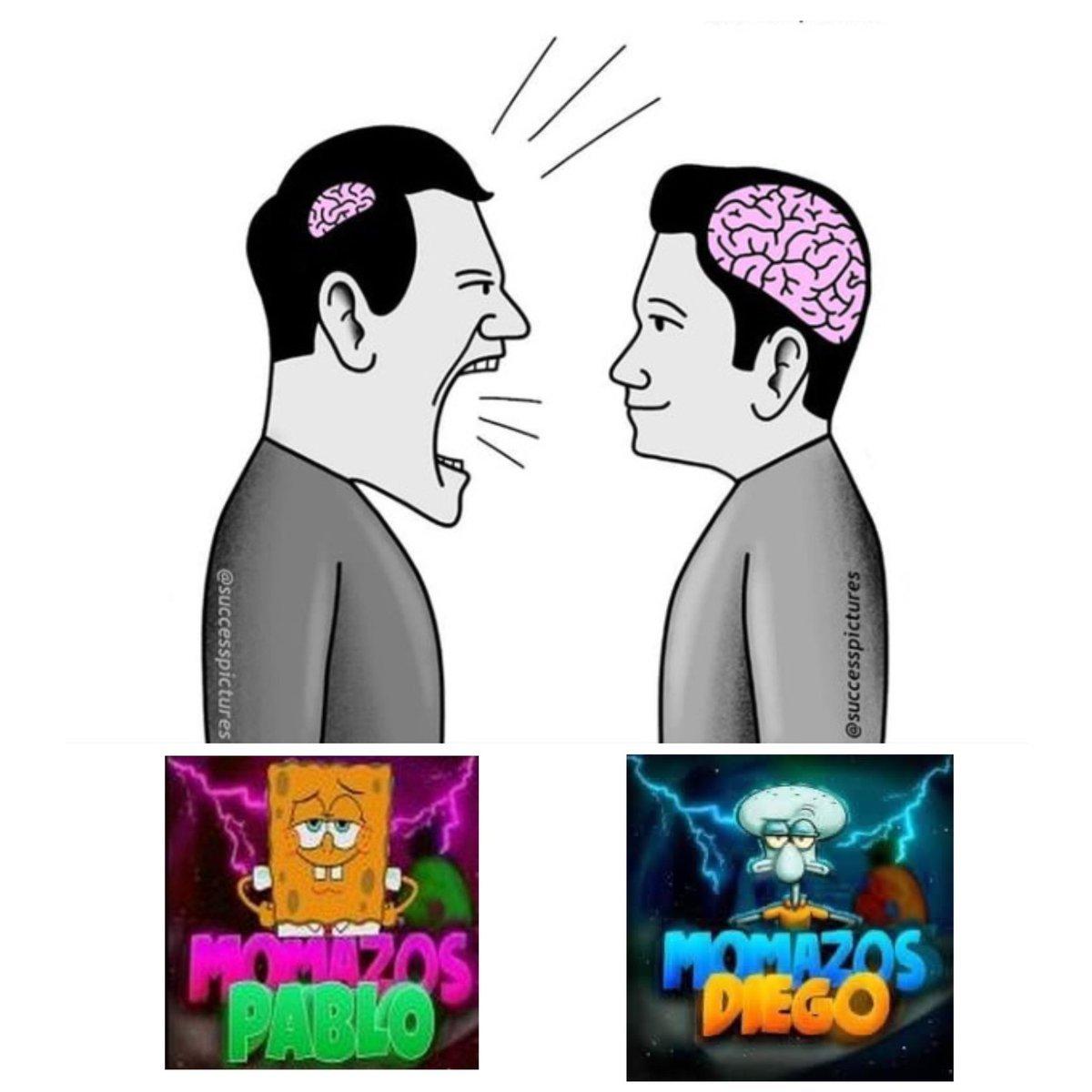 ¡Momazos Pablo VS Momazos Diego!. - meme