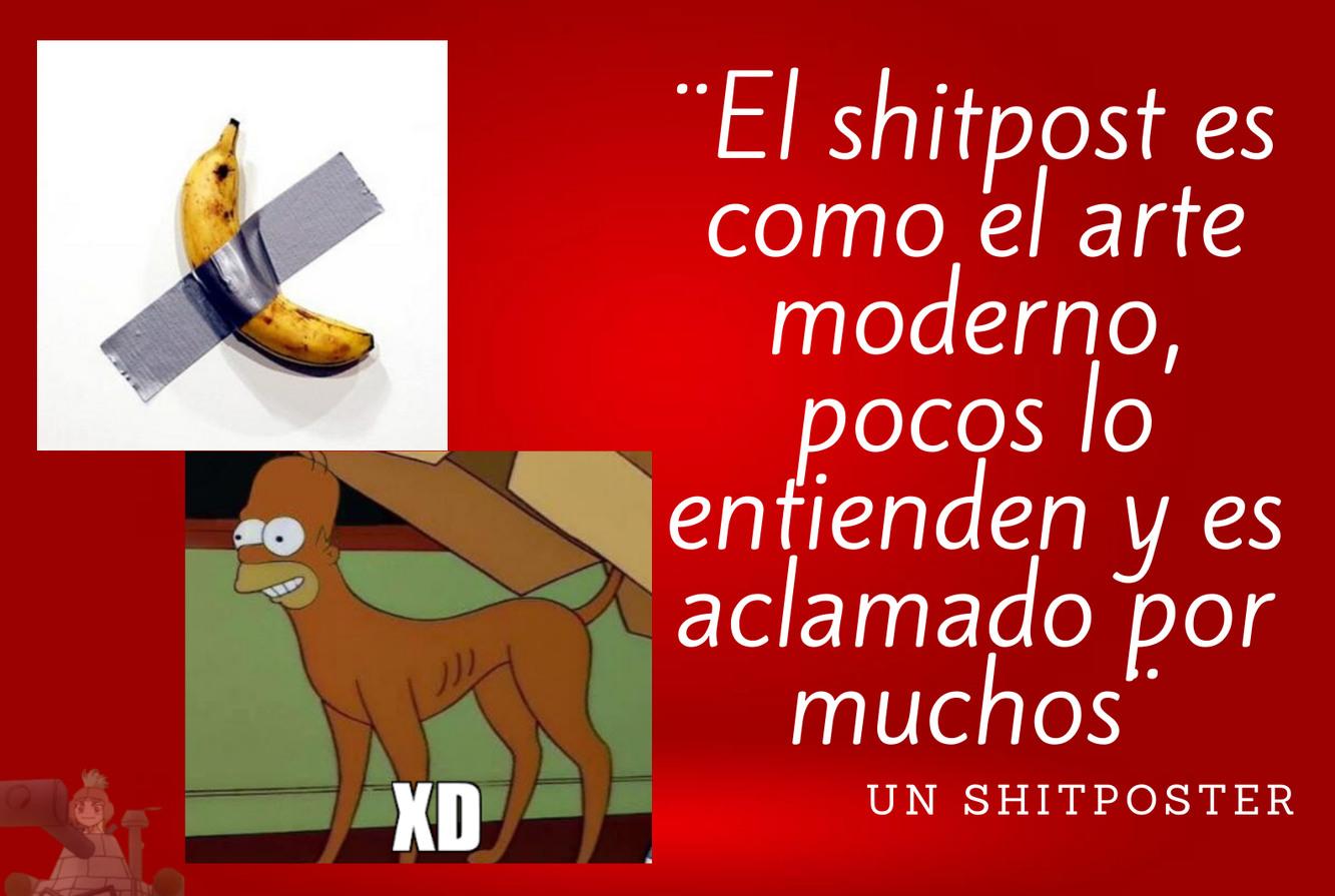 El shitpost - meme
