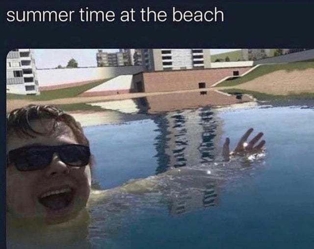 Foto de mis vacaciones pro - meme