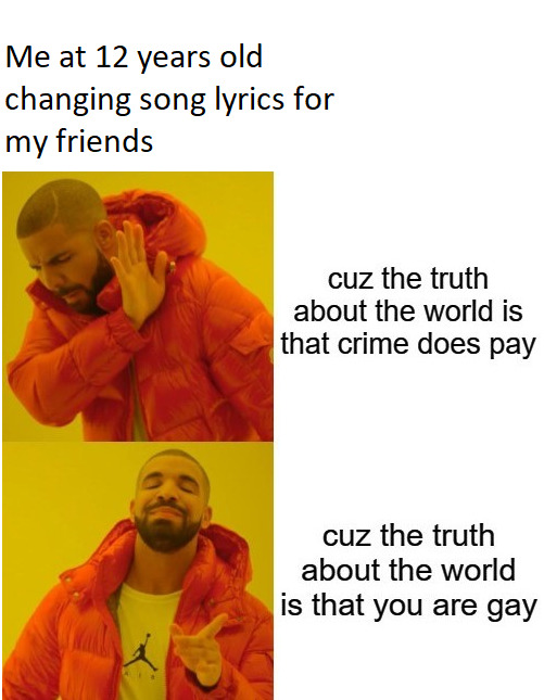 """Lyric source: """"Have you Ever"""" by The Offspring - meme"""