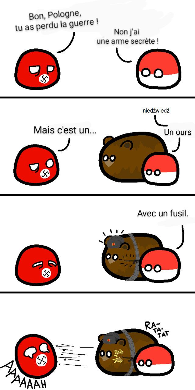 Un ours communiste ! - meme