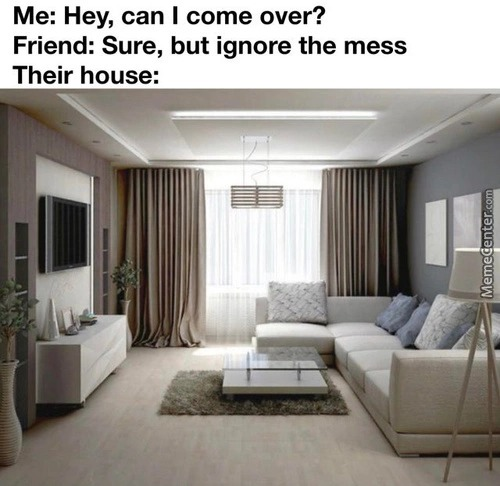 Ignore the mess they said - meme