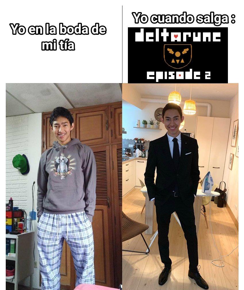 Yo cuando salga Deltarune episodio 2 - meme